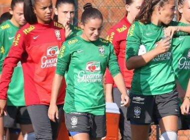 Com passagens pela Seleção Brasileira Sub-20, Michele Smaniotto realiza testes no Vitória