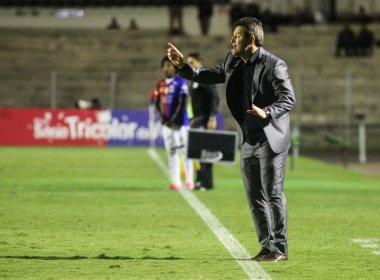 Argel reclama de excesso de jogos do Vitória após eliminação na Copa do Brasil