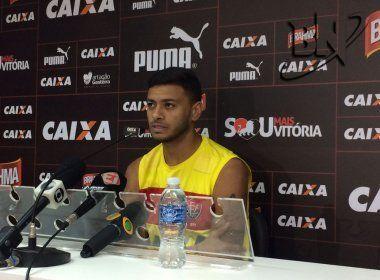 Cleiton Xavier lamenta torcida única e prevê grande jogo contra o Bahia