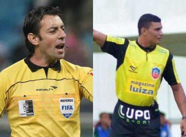 Raphael Claus e Marielson Alves Silva apitam Ba-Vi's das finais do Baianão