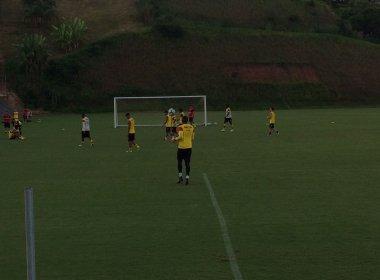 Vitória se reapresenta e começa preparação para o  Ba-Vi; Kieza treina normalmente