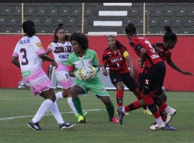 Futebol feminino: Vitória recebe o Santos nesta quarta-feira