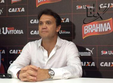 Petkovic comemora retorno ao Vitória: 'Um prazer enorme'
