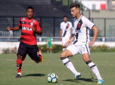 Copa do Brasil Sub-20: Nos acréscimos, Vitória perde para o Vasco em São Januário