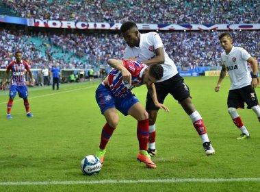 Bahia e Vitória divulgam escalações para o 1º clássico da final do Baiano
