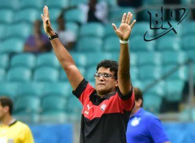Wesley Carvalho destaca mudança de postura do Vitória no 2º tempo do Ba-Vi