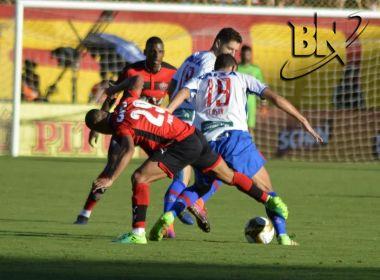 Vitória empata com o Bahia no Barradão e conquista Baianão de forma invicta
