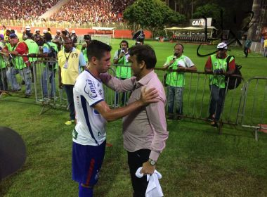 'Falou que sou um baita jogador': Juninho revela conversa com Petkovic após Ba-Vi