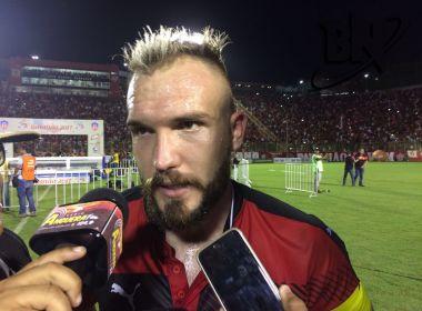 Willian Farias diz que criação de identificação com o clube está no caminho certo
