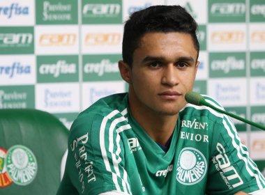 Vitória tem interesse no atacante Erik, do Palmeiras