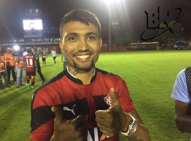 Tri do Baianão, Kieza celebra conquista pelo Vitória: 'Estou muito feliz'