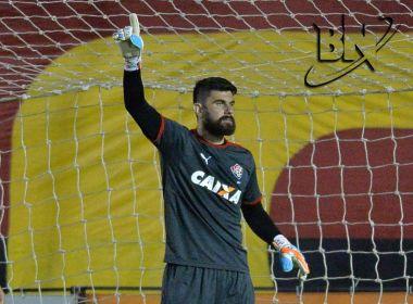 Fernando Miguel dedica o título a todos os torcedores do Vitória