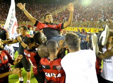 Wesley Carvalho dedica título para Argel Fucks: 'Responsável por isso'