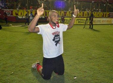 Rafaelson espera ter mais oportunidades no Vitória: 'Vou continuar trabalhando forte'