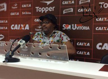 Edson Gomes lançará música em homenagem ao Vitória neste sábado