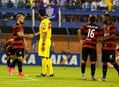 Jogadores do Vitória recebem folga após empate com o Avaí