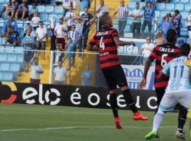'Somar fora de casa não é ruim', diz Alan Costa após 0 a 0 com o Avaí