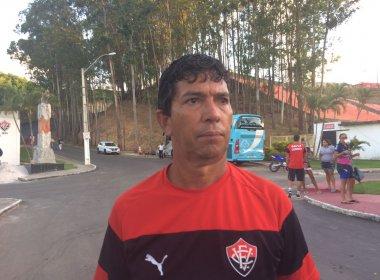 Futebol feminino: Técnico do Vitória prevê 'batalha complicada', mas não joga a toalha