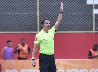 Péricles Bassols apita confronto entre Vitória e Corinthians