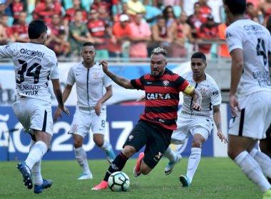 Vitória sucumbe diante do Corinthians e conhece o seu primeiro revés no Brasileirão