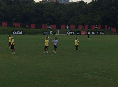 Com Kieza em campo, Vitória inicia preparação para encarar o Coritiba