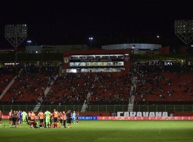 Apagão no Ba-Vi da Copa do Nordeste rende multa de R$ 5 mil ao Vitória