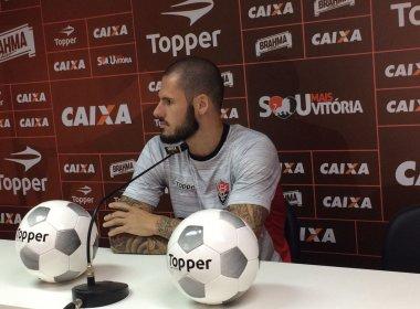 Fred quer triunfo contra o Fluminense para recuperar confiança do Vitória