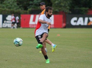 Vitória treina em dois períodos de olho no Fluminense