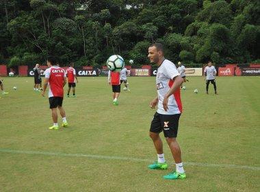 Patric vê Fluminense como um 'bom desafio' para o Vitória