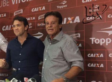Sinval pede demissão e Petkovic assume o futebol do Vitória; clube procura novo treinador