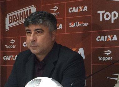 Após revés, técnico do Vitória admite necessidade de reforços