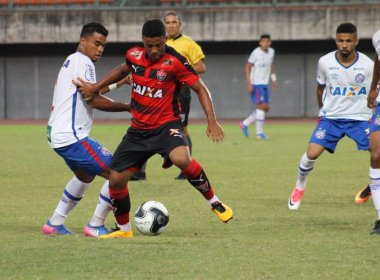 Vitória bate Bahia e larga na frente na semifinal do Campeonato Baiano Sub-20