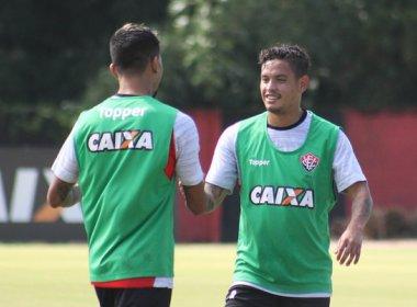 Após ser aprovado nos exames médicos, Carlos Eduardo realiza treino no Vitória
