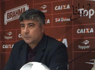 'Faltou atenção e confiança', diz Gallo sobre goleada sofrida em Curitiba