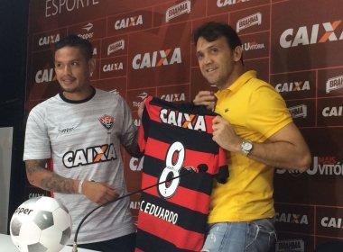Carlos Eduardo quer jogar em alto nível no Vitória e sonha com retorno à Seleção