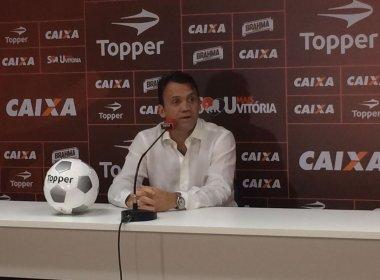Petkovic anuncia fim das categorias sub-18 e 16 do Vitória: 'Não tem necessidade'