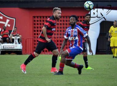 No Barradão, Vitória e Bahia empatam sem gols