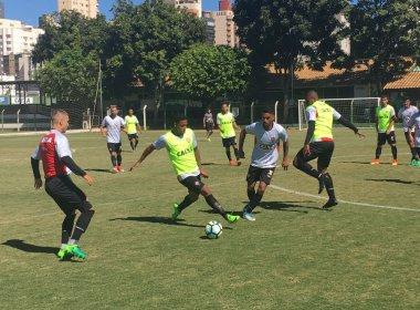 Em Goiânia, Vitória encerra preparação para pegar o Atlético-GO