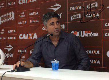 Alexandre Gallo destaca primeiro tempo do Vitória no triunfo sobre o Atlético-GO