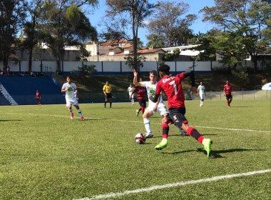 Taça BH Sub-17: Vitória estreia com empate diante da Chapecoense