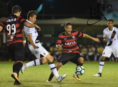 Vitória é goleado pelo Vasco no Barradão e permanece no Z-4