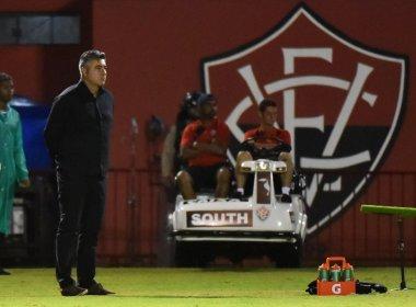 Gallo assume responsabilidade por revés do Vitória para o Vasco