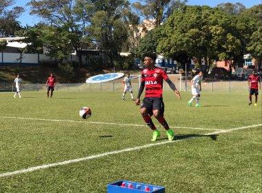 Rodrigo Chagas lamenta empate contra a Chape na Taça BH Sub-17: 'Sabor de derrota'