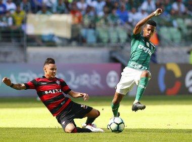 Vitória sai na frente, leva virada e perde para o Palmeiras no Allianz Parque