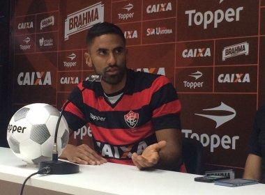 Santiago Tréllez se diz preparado para estrear pelo Vitória