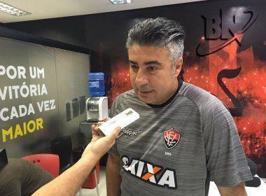 Após reunião, Vitória demite o técnico Alexandre Gallo