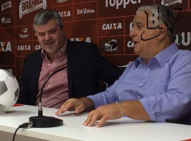 Novo gestor de futebol do Vitória, Cléber Giglio quer apagar 'focos de incêndio' no clube