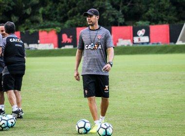 Demitido, Ângelo Alves se diz grato ao Vitória: 'Continuarei torcendo pelo clube'