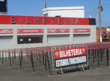 Vitória x Ponte Preta: ingressos à venda para o duelo no Barradão
