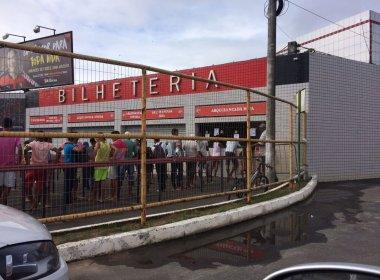 Com promoção para sócios, Vitória inicia venda de ingressos para duelo contra Avaí